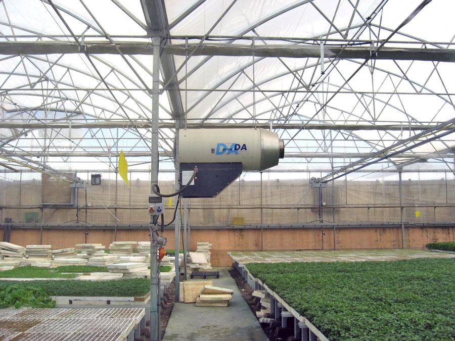 Automatizacion de invernaderos estudios y proyectos en el - Calefaccion por aire ...